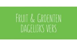 Fruit & Groenten dagelijks vers